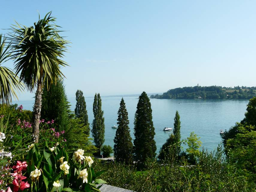 View from the Isle of Mainau